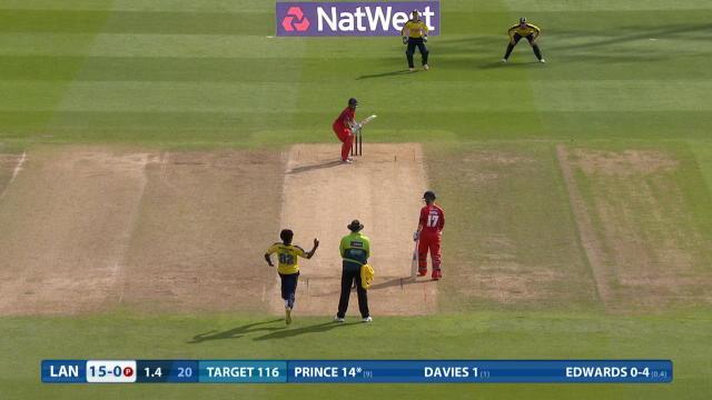 Hampshire v Lancashire - Natwest T20 Blast, Lancashire Innings