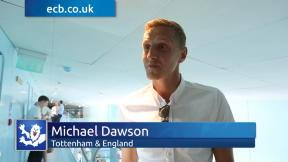 Spurs star Dawson loves the Investec Ashes