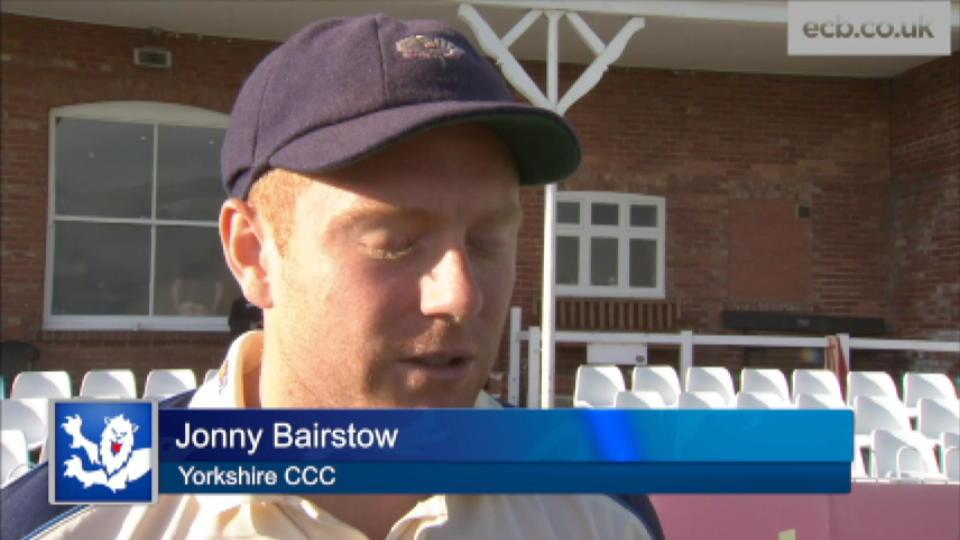 Another hundred for Bairstow