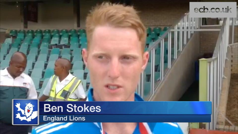 Stokes fires Lions to opening win