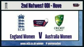 England Women v Australia Women - 2nd ODI highlights