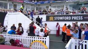 2nd NatWest Series ODI – The Kia Oval - England innings