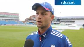 Trott happy with dominant position