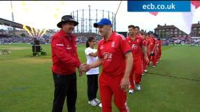 England v New Zealand - 2nd Int T20 highlights, ENG innings