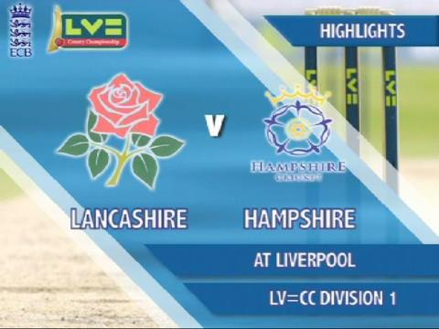 1 Sept - Lancs v Hants - Day 2
