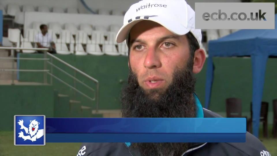Moeen Ali interview following England's win over Sri Lanka A