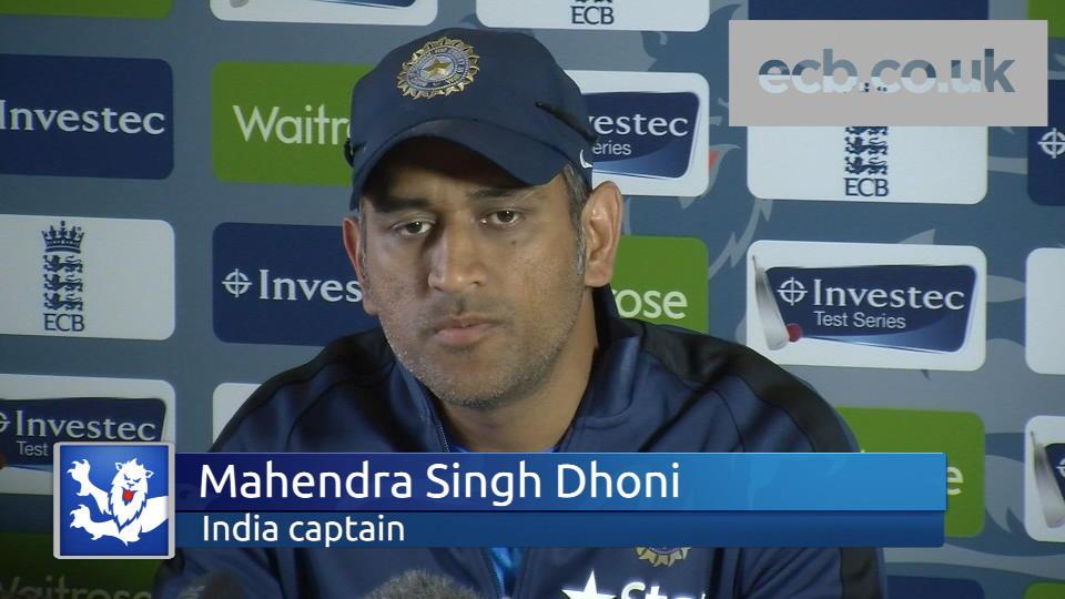 Dhoni ready for first Test