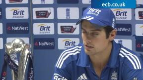 Cook delighted with series win