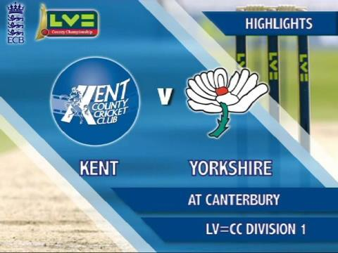 21 April - Kent v Yorkshire - Day 1