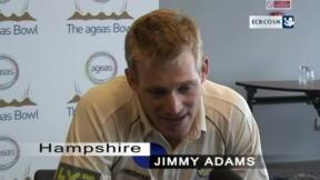 Adams proud to lead Hampshire