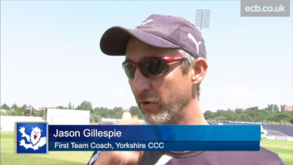 Incredibly satisfying - Gillespie