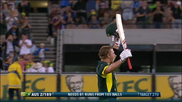 England v Australia: 1st ODI - Melbourne, Australia Innings