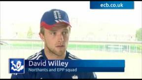 Willey following in father's footsteps