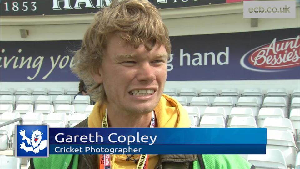 Behind the camera - Gareth Copley