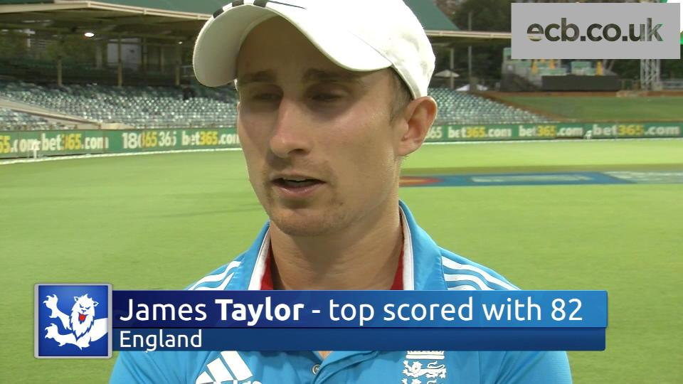 Batting hero Taylor 'delighted' with win
