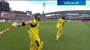 2nd NatWest ODI -The Kia Oval - Australia innings