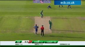 5th NatWest Series ODI - South Africa innings
