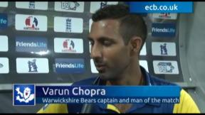 Chopra boosts Bears