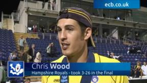Wood is Hampshire's hero
