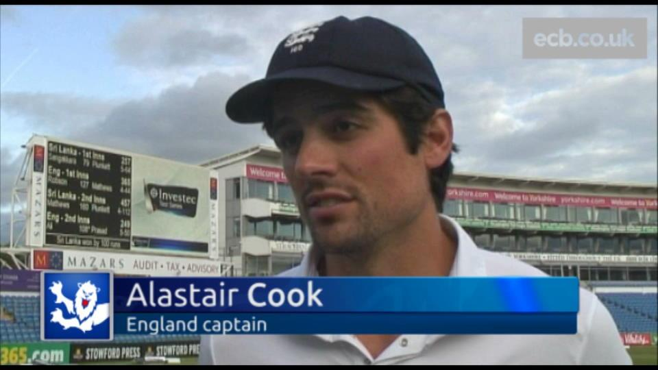 Defeat is tough to take - Cook