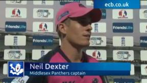 Dexter thrilled with win