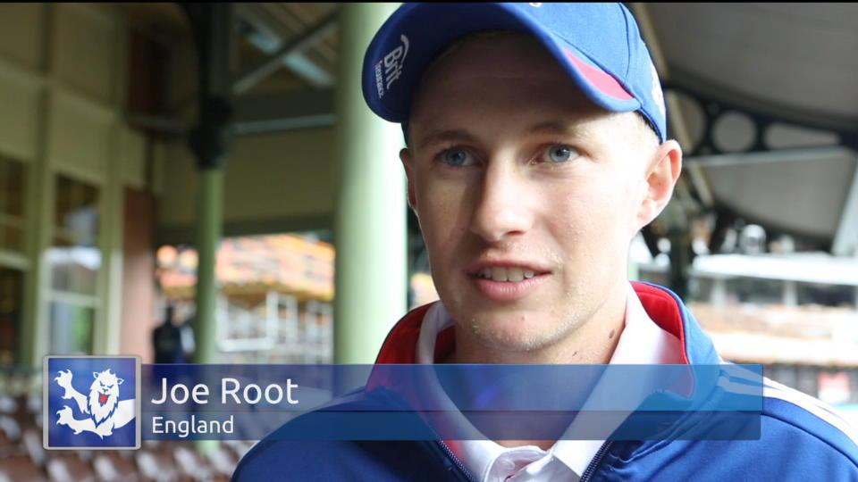 Root just happy to be in an England shirt