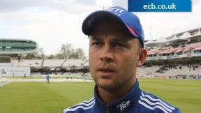 Trott encouraged by hard graft