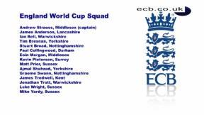 England name World Cup squad
