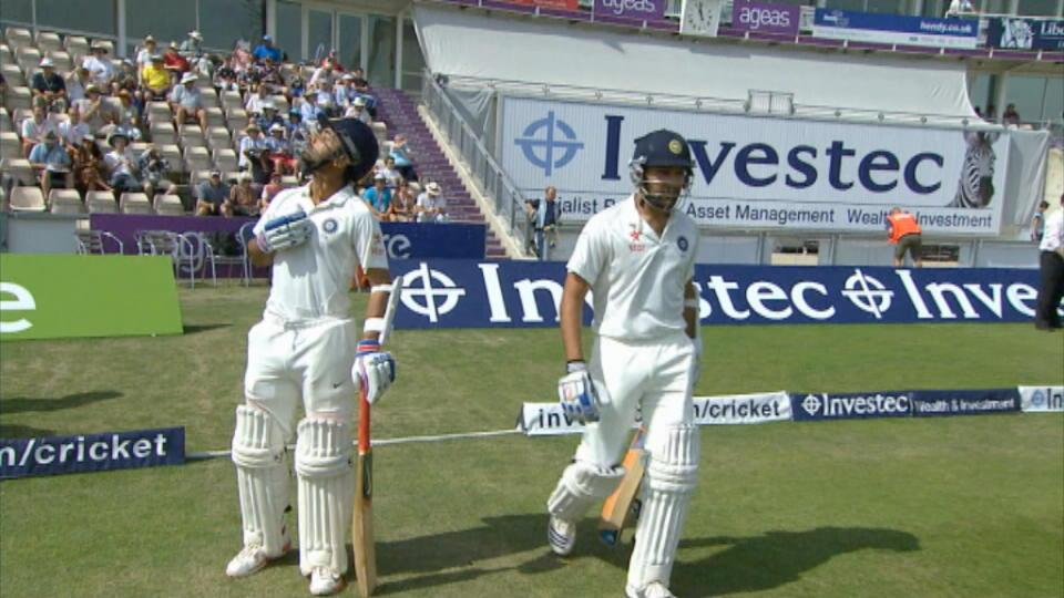 England v India, 3rd Test, Day 5 Morning Session