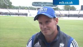Andrew Strauss - 100th Test exclusive