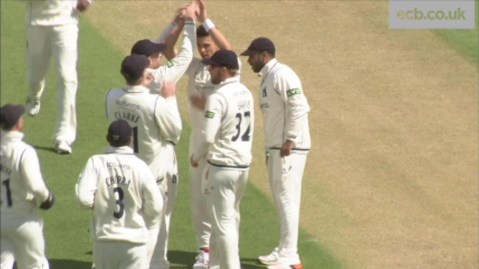 Warwickshire v Durham - Day 3