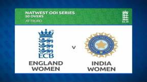 England v India - 4th Women's ODI - highlights