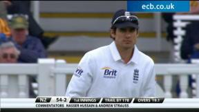 England v New Zealand - 1st Test Highlights, Day 2 Evening