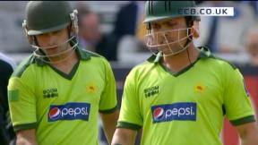 4th NatWest Series ODI - Lord's - Pakistan Innings