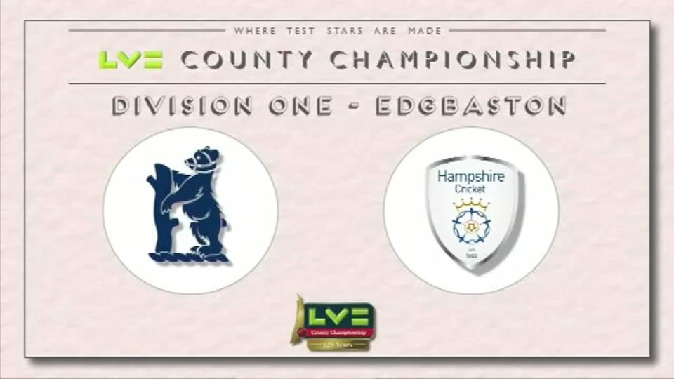 Warwickshire v Hampshire - Day 1