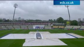 3rd Investec Test - Edgbaston - Day 1 abandoned