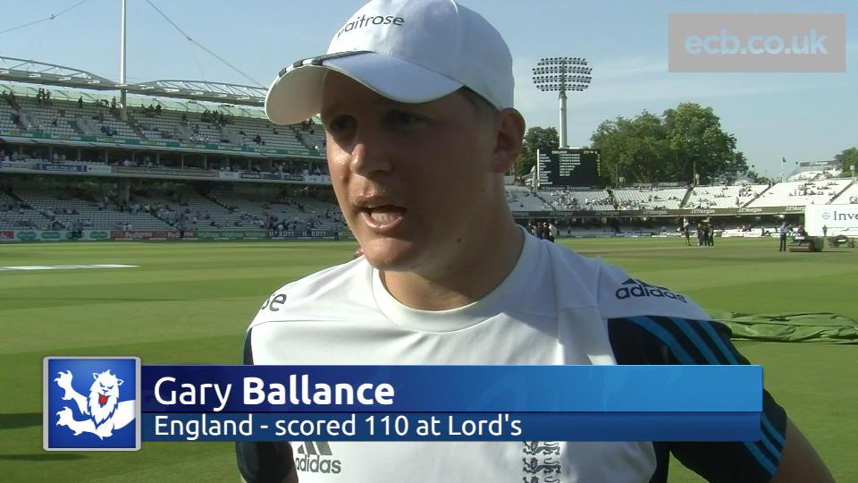 Ballance delighted with Lord's ton