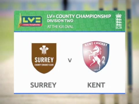 Kent v Surrey - Day 1