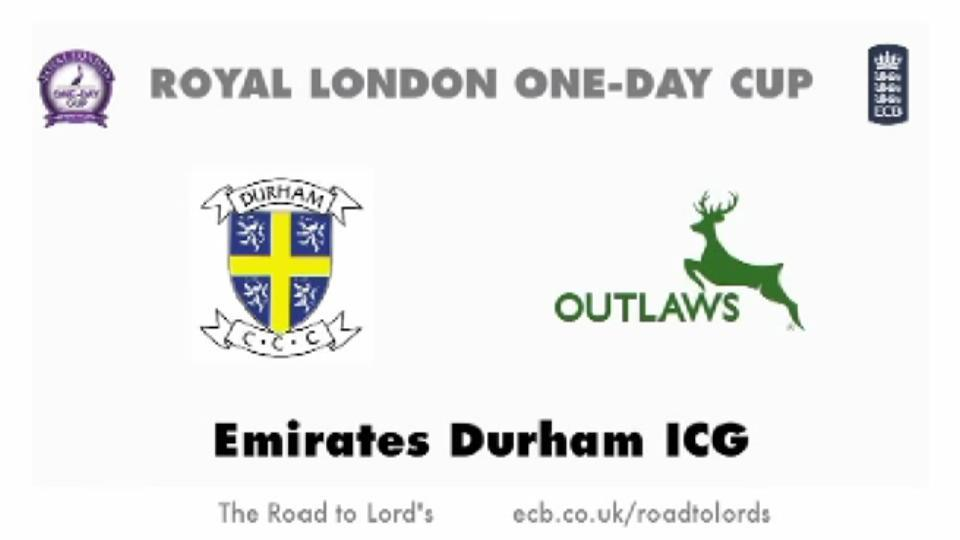 Durham v Notts Outlaws