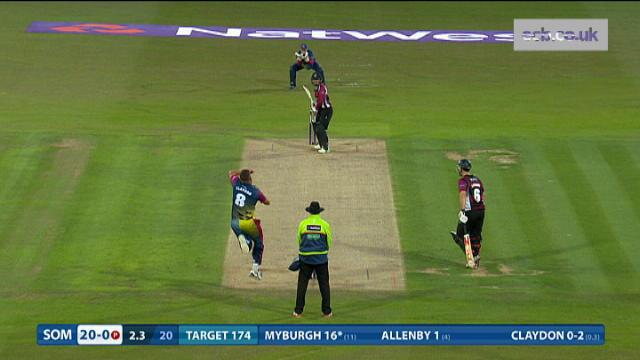 Kent v Somerset - Natwest T20 Blast - Somerset Innings