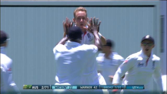 1st Ashes Test, Brisbane – Day 1 Morning