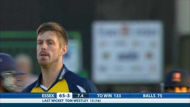 Essex v Birmingham - Natwest T20 Blast, Essex innings