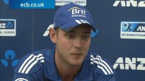 No excuses from Broad