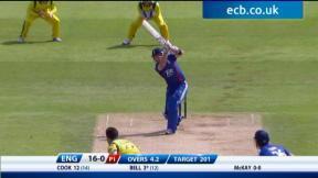 4th NatWest ODI - Emirates Durham ICG - England innings
