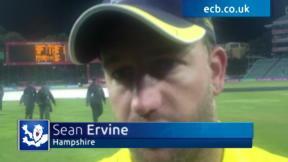 Ervine ponders exit