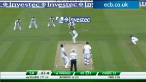 3rd Investec Test - Lord's - Day 1 Afternoon