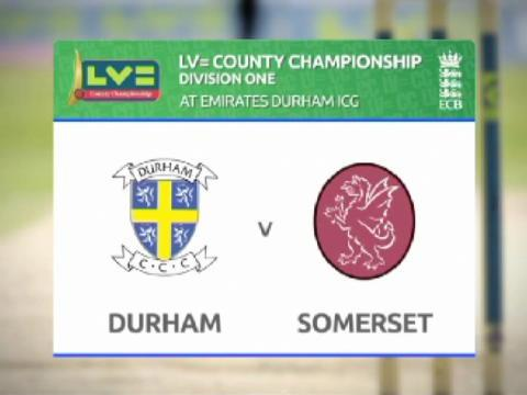 Durham v Somerset - Day 2 - Compton doubles up