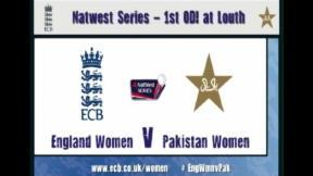 England Women v Pakistan Women - Highlights 1st ODI