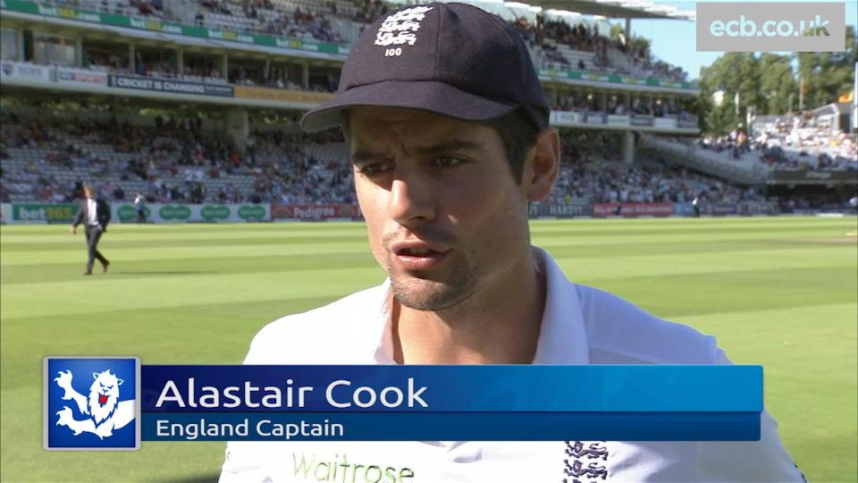 We weren't good enough - Cook
