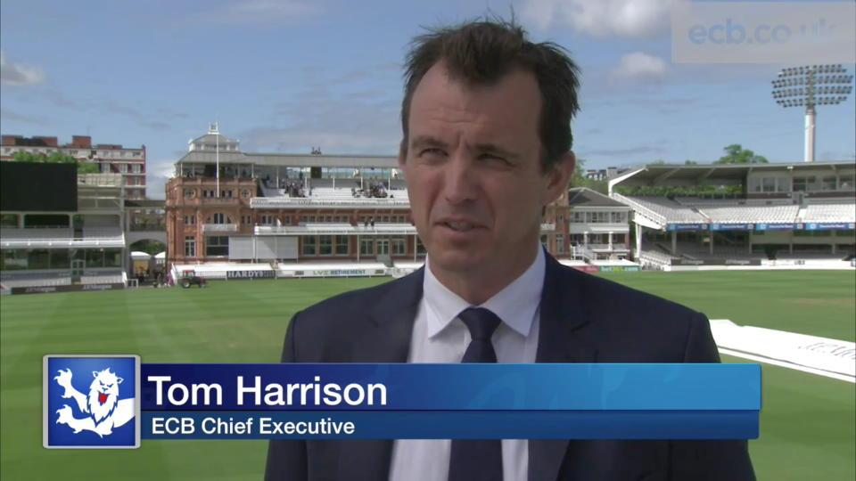 Harrison delighted with Strauss appointment